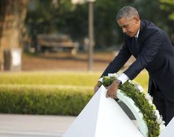 Obama at Hiroshima: 'Death Fell From the Sky'