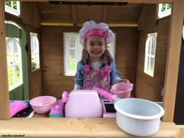 Girl Scouts Build 'Magic' Playhouse for Girl Who Had a Heart Transplant