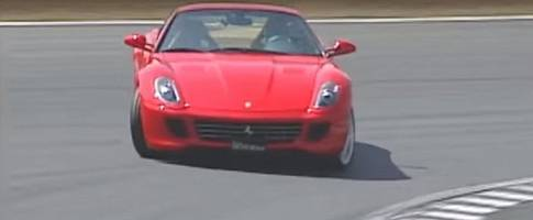 the time when keiichi tsuchiya drifted the hell out of a ferrari 599