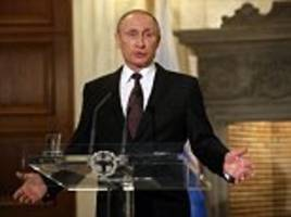 Vladimir Putin warns Poland and Romania could be caught in Russian rockets