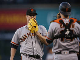 matt cain sustains injury as the giants lose to rockies 5-2
