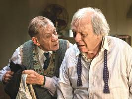 Anthony Hopkins and Ian McKellen co-star for first time in 'The Dresser,' on Starz