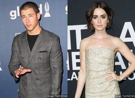 is nick jonas dating lily collins? here's the truth