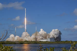 WATCH: SpaceX Launches, Lands Rocket After Delivering Satellite
