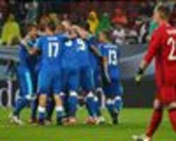 Germany 1-3 Slovakia: Hosts shocked in rain-affected friendly