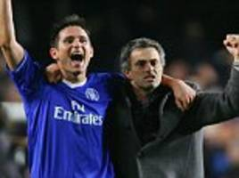 Frank Lampard believes Jose Mourinho 'gives Manchester United the X factor'