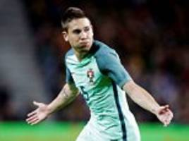 Portugal 3-0 Norway: Liverpool target Raphael Guerreiro scores superb free kick in friendly victory