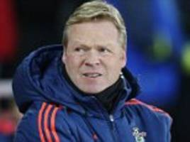 Ronald Koeman slams Manchester United's treatment of Louis van Gaal and says club 'don't deserve a medal' for FA Cup victory if Jose Mourinho deal was done in advance