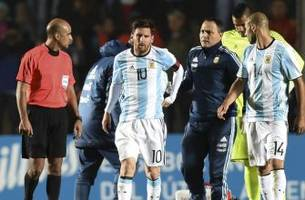 Lionel Messi is on the mend, according to Argentina team doctor