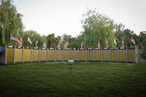 in east bay on monday: memorial day 2016 goldstars tribute wall