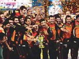 SunRisers blind Kohli's RCB: David Warner's team bowl themselves to victory in IPL final at theChinnaswamy