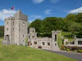 a special home for the special one? new man utd manager jose mourinho may be about to buy this sprawling castle - complete with a tower and fire-breathing dragon