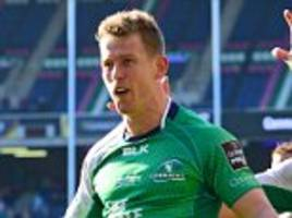 connacht flyer matt healy in line to replace luke fitzgerald after leinster winger pulls out of south africa tour with knee injury