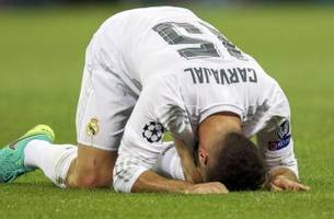spain defender carvajal ruled out of euro 2016 with injury