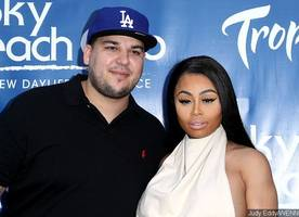 rob kardashian and blac chyna party in las vegas, talk about wedding plans