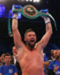 Tony Bellew claims world title with sensational Ilunga Makabu knockout at Goodison Park