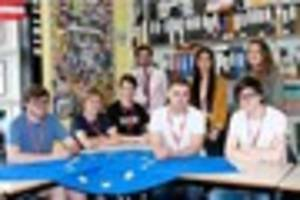 in or out? pingle school students tell us what they think about...