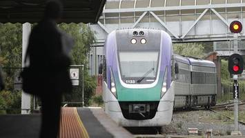 Trains every 20 mins in V/Line boost