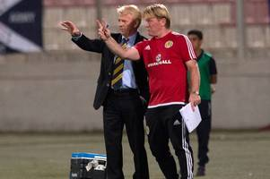 Scotland boss Gordon Strachan admits his side were toothless against Italy