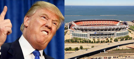 trump eyes browns stadium and progressive field for rnc acceptance speech