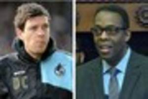 darrell clarke bombarded by bristol rovers fans on twitter - but...