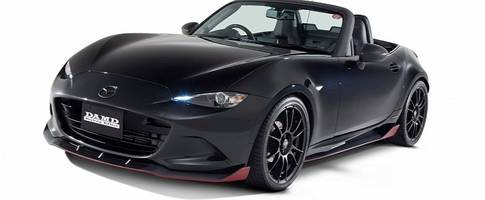 2016 mazda mx-5 roadster dark knight tuned by damd with carbon goodness