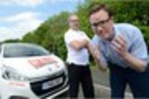 watch: herald reporter re-sits his driving test - but did he pass...