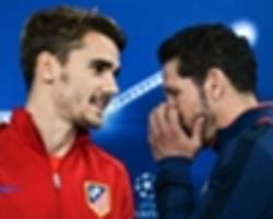 griezmann confident simeone will stay at atletico
