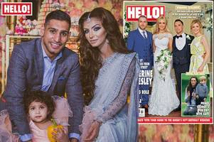 amir khan and wife reveal they spent a whopping £100,000 on daughter's second birthday party