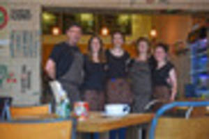 new pittville cafe opened by caterers to the stars