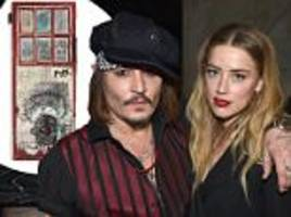 johnny depp selling multi-million dollar jean-michel basquiat collection as he faces pricey divorce battle amidst amber heard abuse claims