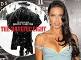 victoria's secret angel adriana lima reveals dream of starring in a tarantino film