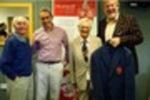 ray gravell's historic rugby blazer returns to a good cause