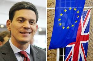 remain campaign faces 'the fight of its life' to convince welsh voters to remain in eu, warns david miliband
