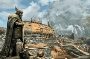 'skyrim' is back on ps4 and xbox one