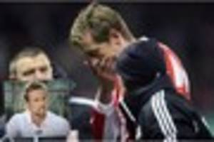 stoke city: the pictures that explain why peter crouch looks like...