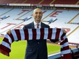 roberto di matteo thinks 'the only way is up' for aston villa and is close to signing bournemouth defender tommy elphick
