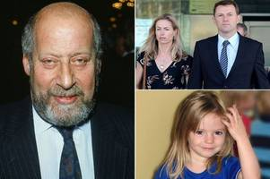 police warned about 'paedophile' clement freud's links to madeleine mccann's family but concerns were 'dismissed' victim claims