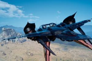 final fantasy xv's flying car looks absolutely ridiculous