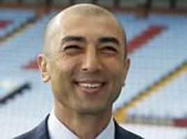 roberto di matteo sends warning to aston villa players: there will be consequences if you step out of line