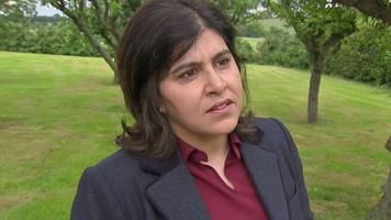 baroness warsi: 'leave is creating divide and hate'