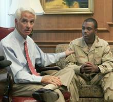 president obama endorses charlie crist in a florida house race