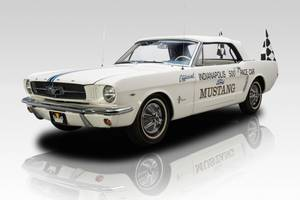 million-dollar mustang? this 1964.5 indy 500 pace car is banking on it
