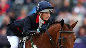 rio 2016: zara phillips misses out on olympics selection