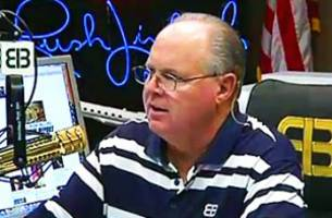 limbaugh loved trump's clinton speech: no other republican would say those things!