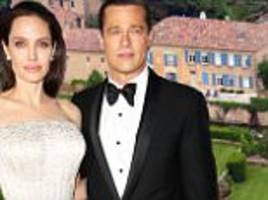 brad pitt 'is unhappy angelina jolie wants to sell chateau miraval so she can further political career in london'