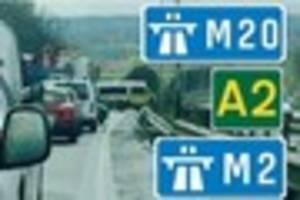 LIVE: Breaking travel news for Canterbury, M2, A2 and Thanet Way...
