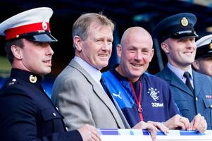 rangers chairman dave king says mark warburton is building a side which will compete in europe