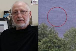 Loch Ness monster 'spotted 10ft out of water'
