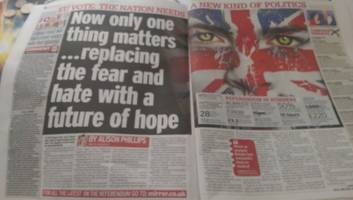 EU Referendum: what the tabloids got wrong the day after the UK voted